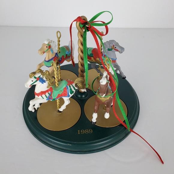 Hallmark Other - 1989 Hallmark Carousel Horses Collectors